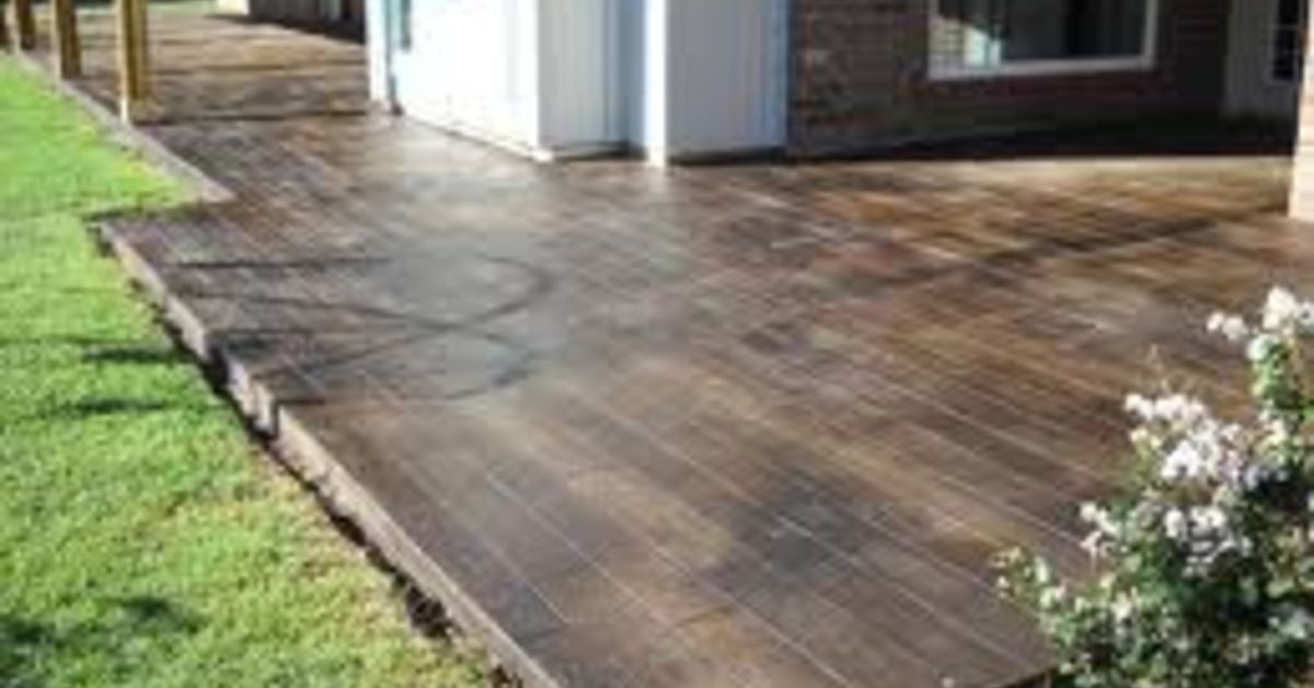 how to make my concrete patio look better