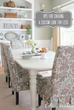 how to create a custom look without the high dollar price tag, home decor, Creating The Custom Look For Less
