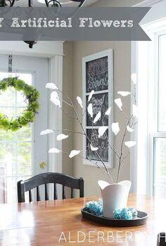diy artificial flowers, crafts