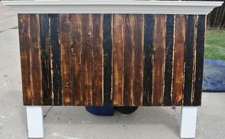 shorty pallet headboard, bedroom ideas, painted furniture, pallet, repurposing upcycling