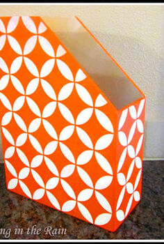 six stenciled dorm decor projects, painting