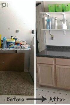 installing base cabinets, diy, kitchen cabinets