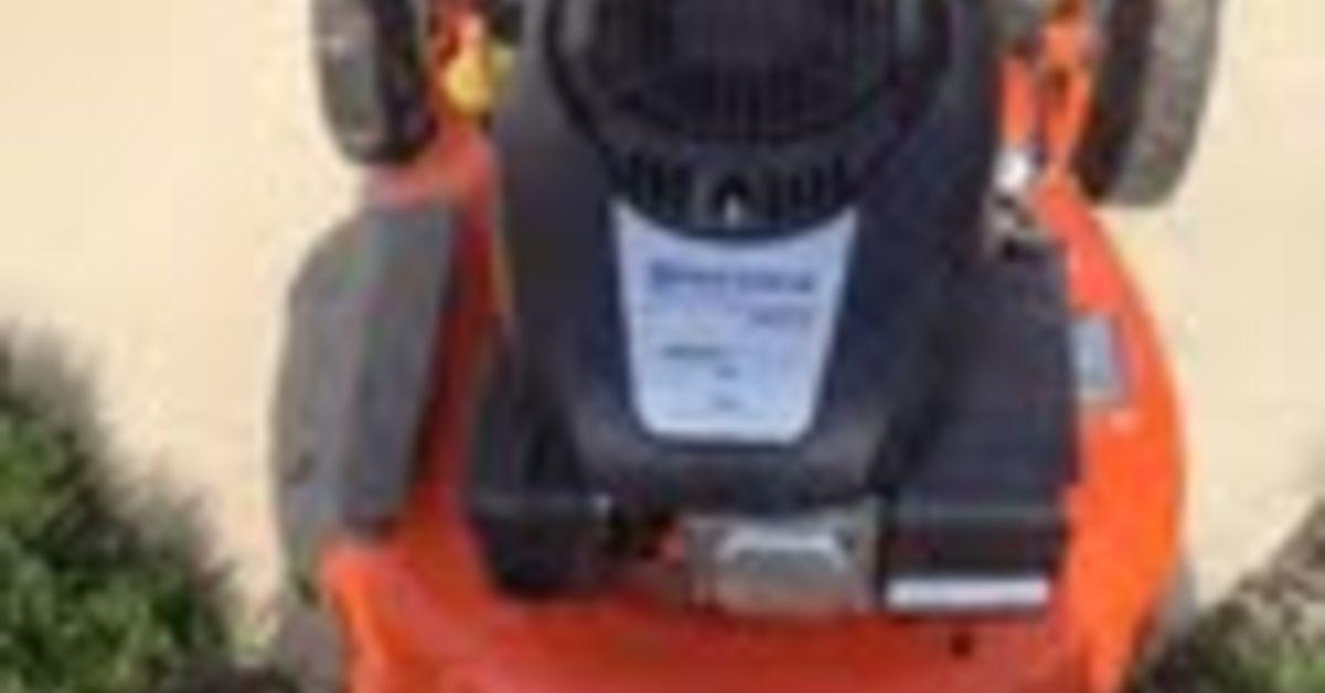 Husqvarna Push Lawn Mower Carb Issue Leaking Gas
