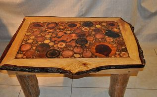 rustic coffee table, woodworking projects