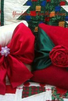 easy no sew christmas pillows, christmas decorations, crafts, seasonal holiday decor