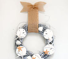 seashell wreath tutorial, crafts, wreaths, Seashell Wreath