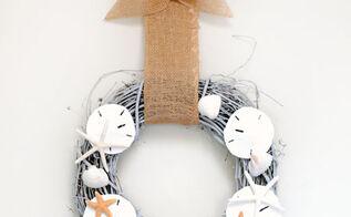seashell wreath tutorial, crafts, wreaths, Seashell Wreath