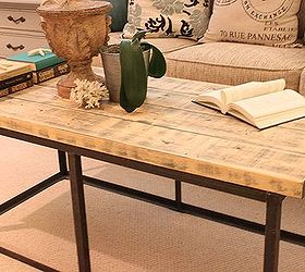 How I Made A Diy Version Of A Restoration Hardware Coffee Table, Diy, Home