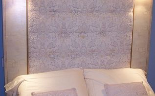 tufted headboard with lights, bedroom ideas, crafts, home decor, repurposing upcycling, nice reading lights with switches on sides