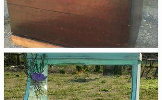 trash to treasure roadside find makeover, painted furniture, Roadside Find nightstand makeover