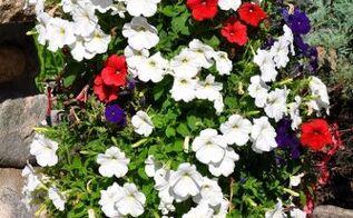 diy flower tower, flowers, gardening