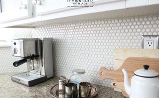 my kitchen style, home decor, kitchen design, Honeycomb tile
