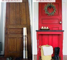 Old Door DIY Modern Country Entry Table Hometalk