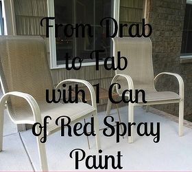 How To Spray Paint Outdoor Chairs, Outdoor Furniture, Painted Furniture,  Here Are Our