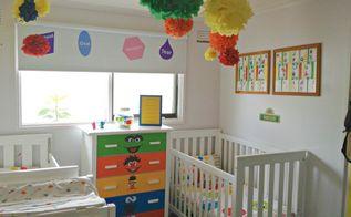 sesame street nursery, bedroom ideas, home decor, Sesame Street Themed nursery for a boy girl shared room