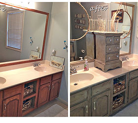 Great Bathroom Vanity Makeover With Annie Sloan Chalk Paint Hometalk