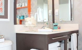 bathroom makeover, bathroom ideas, home improvement, small bathroom ideas, The new vanity