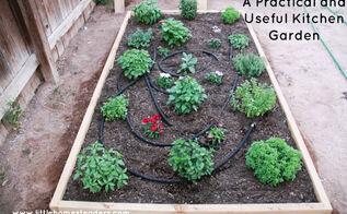 planting a kitchen garden, diy, gardening, homesteading, kitchen design, raised garden beds, woodworking projects