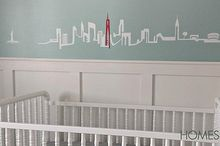 custom wall decal, crafts, home decor, wall decor, NYC skyline decal