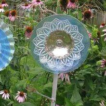 the secret to making glass garden art flowers, crafts, flowers, gardening