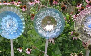 the secret to making glass garden art flowers, crafts, flowers, gardening