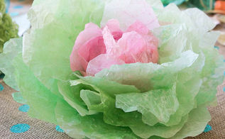coffee filter cabbages, crafts
