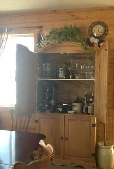 old tv cabinet new wine cabinet, painted furniture, repurposing upcycling, storage ideas