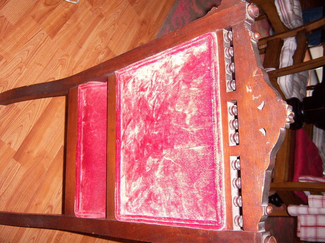 Antique Chairs Reupholstered Hometalk