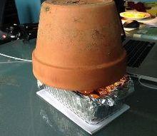 tea light personal space heater, crafts, hvac, repurposing upcycling