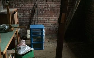 root cellar ravaged by 1869 flood becomes a beautiful lab space, garages, home improvement, shelving ideas