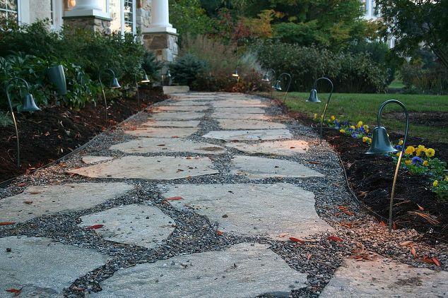 Natural Flagstone Patio : Natural flagstone patio fire pit hometalk