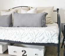diy under the bed drawer organizers, bedroom ideas, crafts, painted furniture, repurposing upcycling, storage ideas