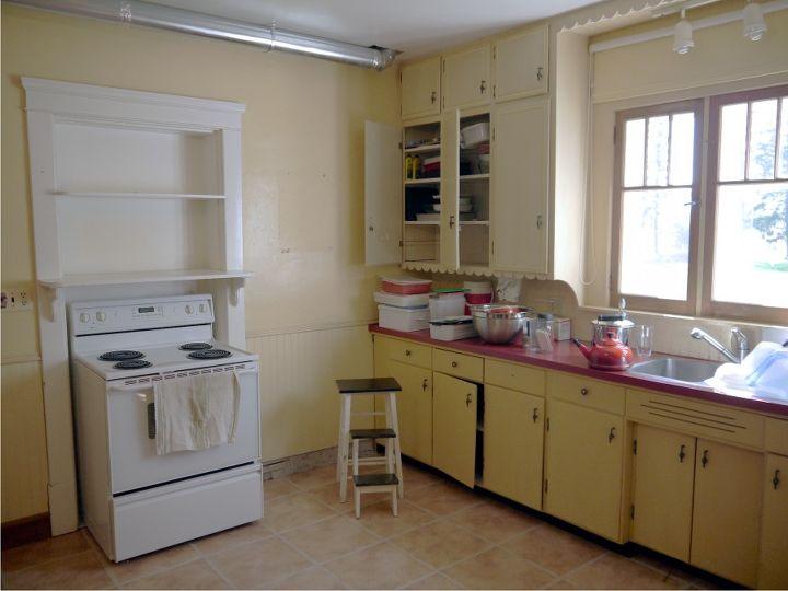 Kitchen Renovation In 1918 Farmhouse Home Decor Backsplash Design Living