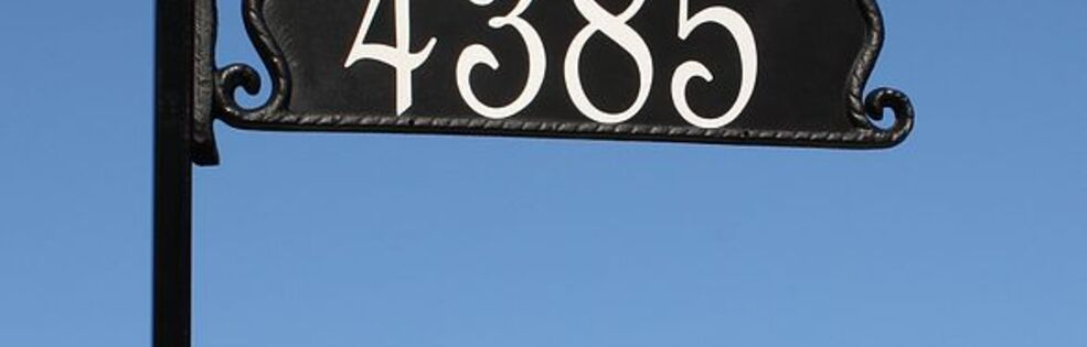911 Address Signs cover photo