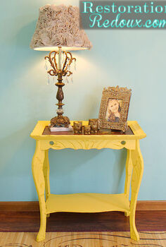 how chalkpaint transformed a vintage table, painted furniture, After