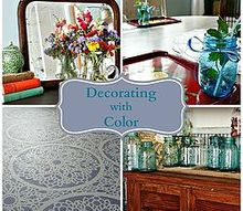 decorating with color my tips, home decor