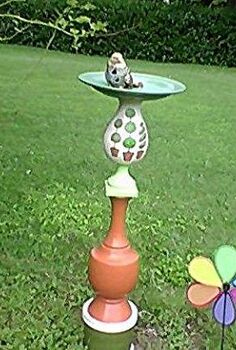 birdfeeder i made in memory of my mom, outdoor living