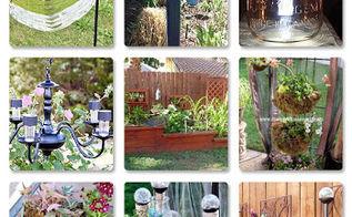 14 diy solar lighting, diy, outdoor living