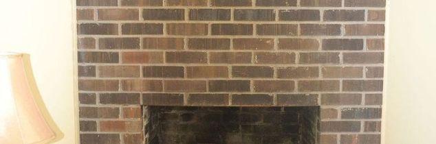 q how to refinish a brick fire place, concrete masonry, diy, fireplaces mantels, home decor