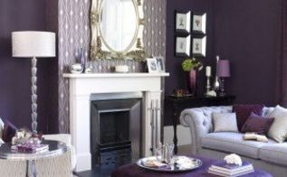seductive and deep shades of purple from soft lilacs to regal amethys, home decor, Purple Furniture Don t fear tone on tone color Balance it with a neutral such as white Besthomedesign org