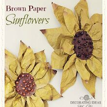 how to make paper flowers, crafts, I made my sunflowers about 20 to decorate for a party
