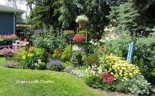 anatomy of a cottage garden, flowers, gardening, perennials, The whole border