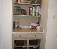 ugly 60 s built in, diy, storage ideas