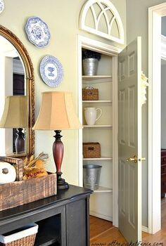 how to turn and under the stairs closet into a butler s pantry, closet, home decor