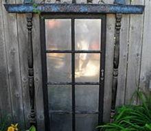 garden salvage, flowers, gardening, painting, repurposing upcycling, I love to repurpose junk to decorate my garden