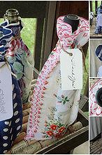 vintage hankie wine bag, crafts, repurposing upcycling