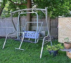 ski lift backyard swing outdoor furniture outdoor living painted furniture