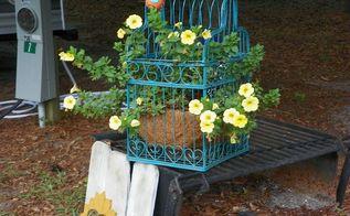 flower decor, flowers, gardening, repurposing upcycling