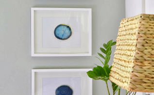 gilded framed agate coasters, crafts, agate coasters in frames