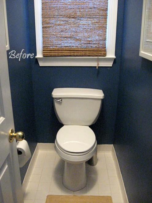 Beadboard wallpaper hometalk for How much to add a half bathroom